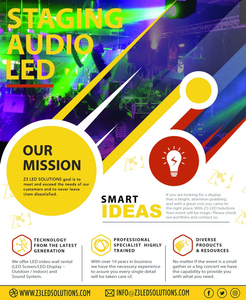 Z3 LED Solutions Guarantees Your Event Is a Success