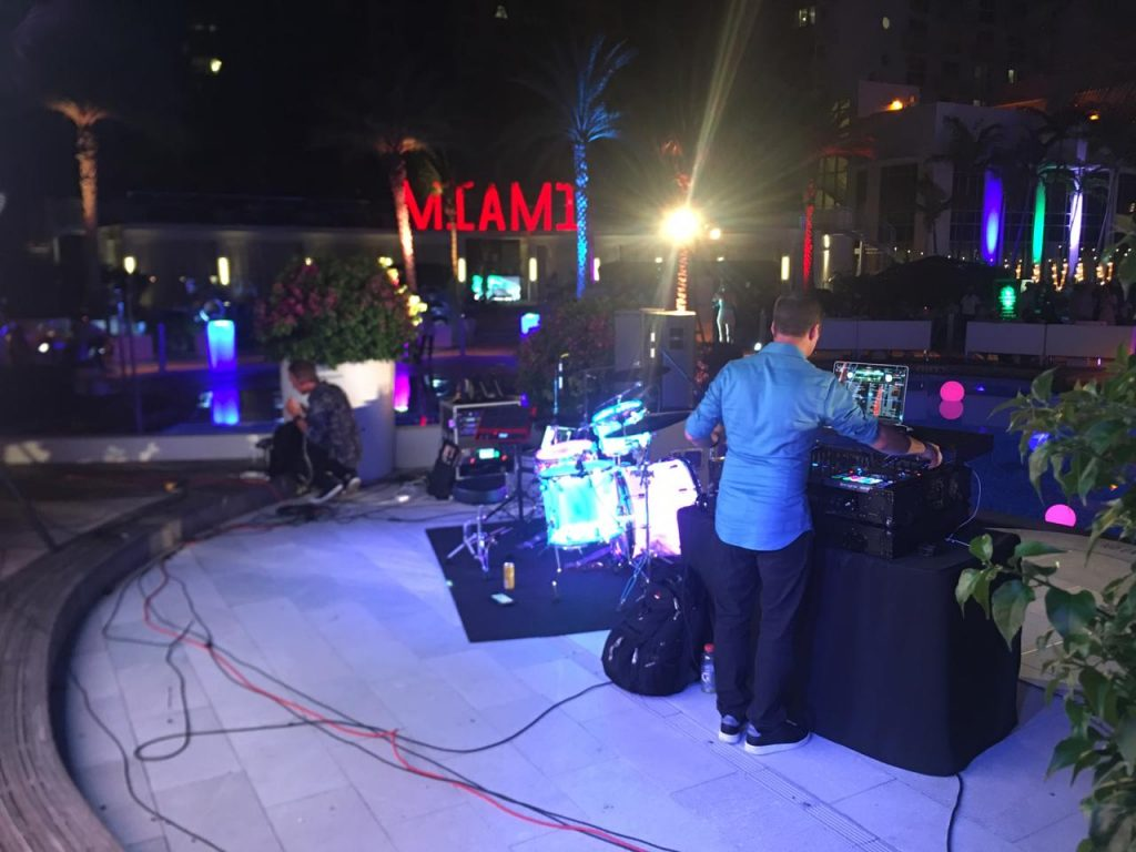 Miami LED event setup