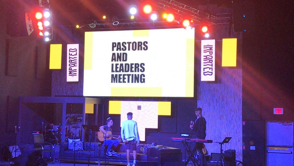 Z3 LED Solutions Church event