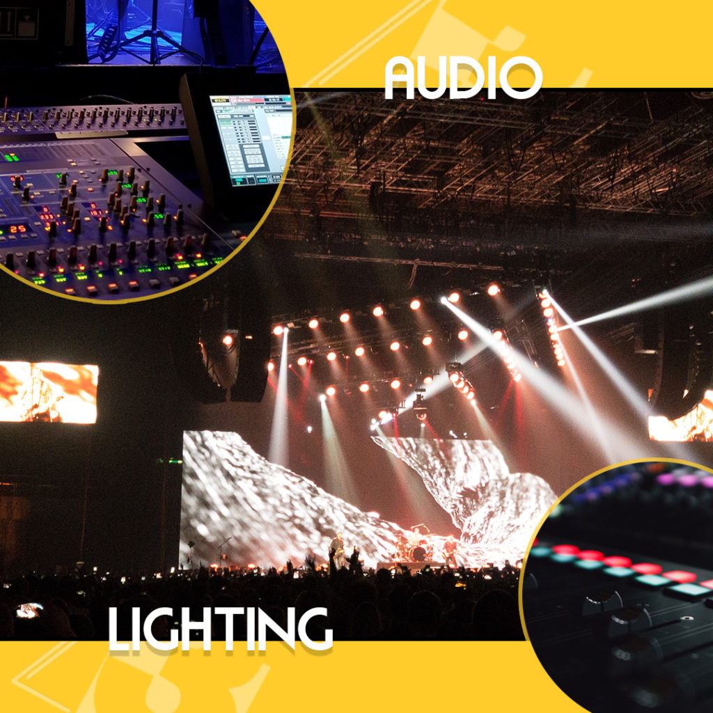 z3 led solutions audio and led panels for Fall Event