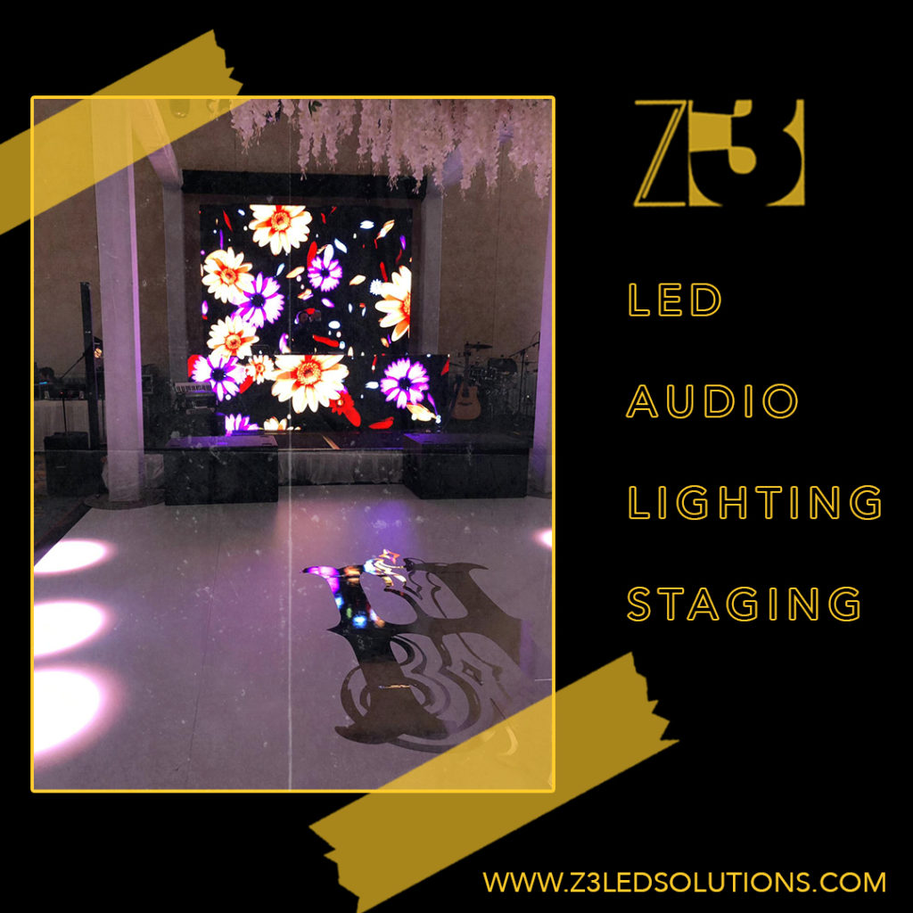 5 Reasons Why You Should Hire Z3 LED Solutions for Your Next Event